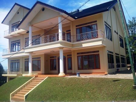 Villa untuk rombongan di Lembang