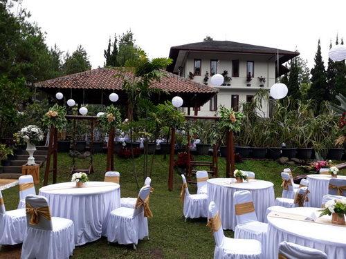 Villa di lembang untuk wedding
